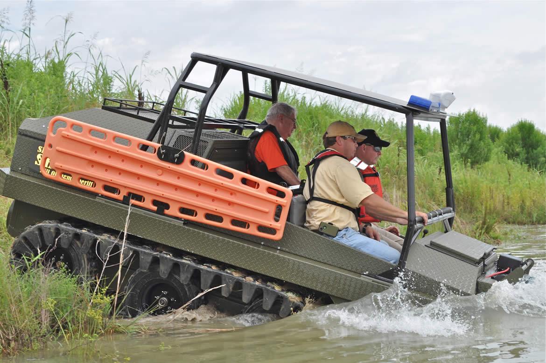 Flooding Search & Rescue: Rescue Amphibious