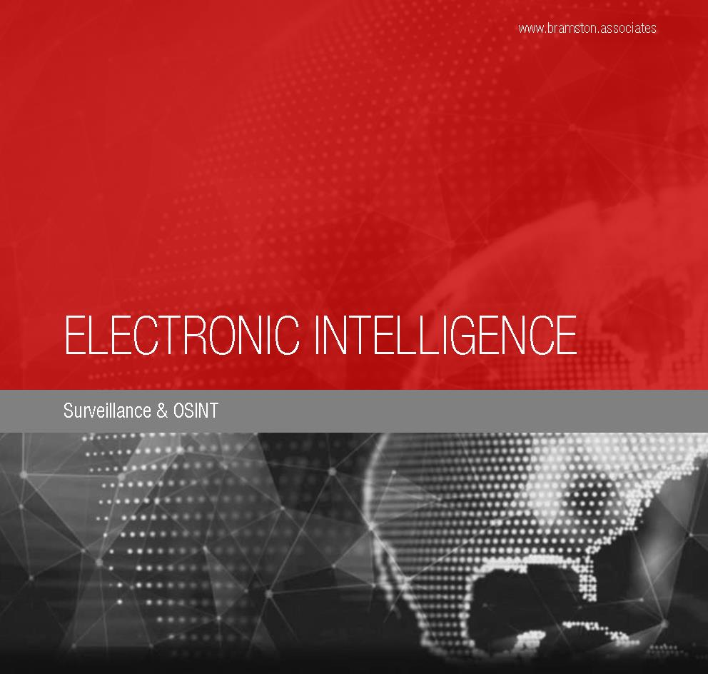 Electronic Intelligence: Surveillance & OSINT