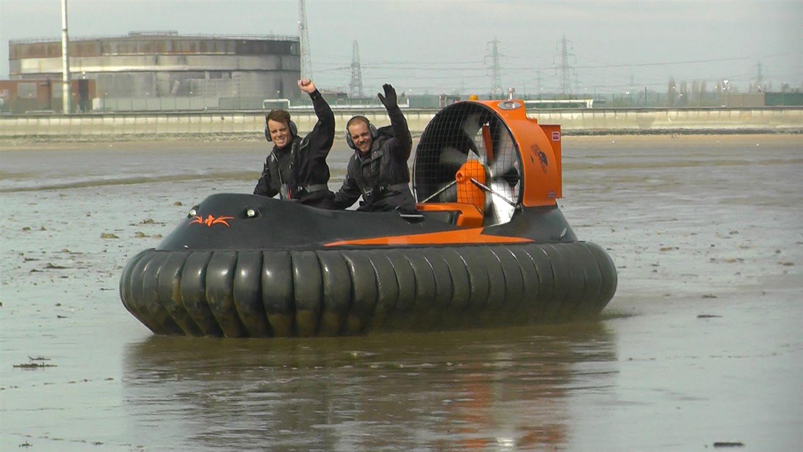 Rescue & military light hovercraft
