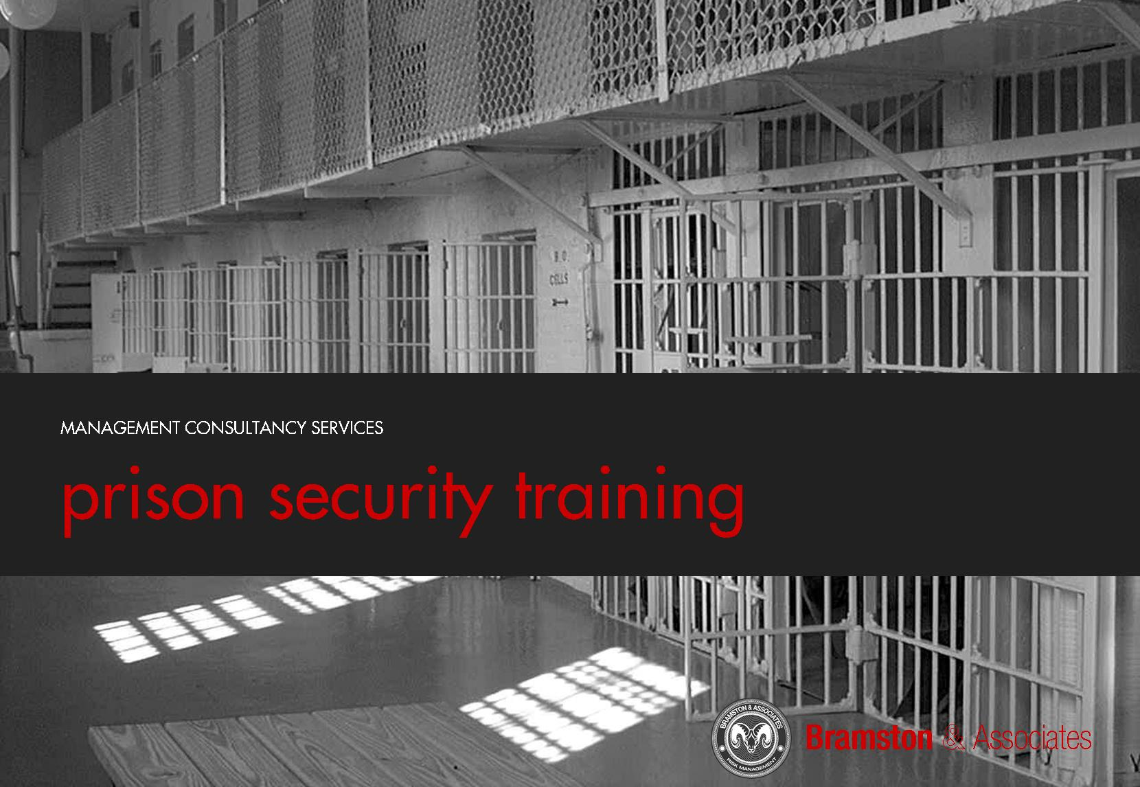 Training for prison officers