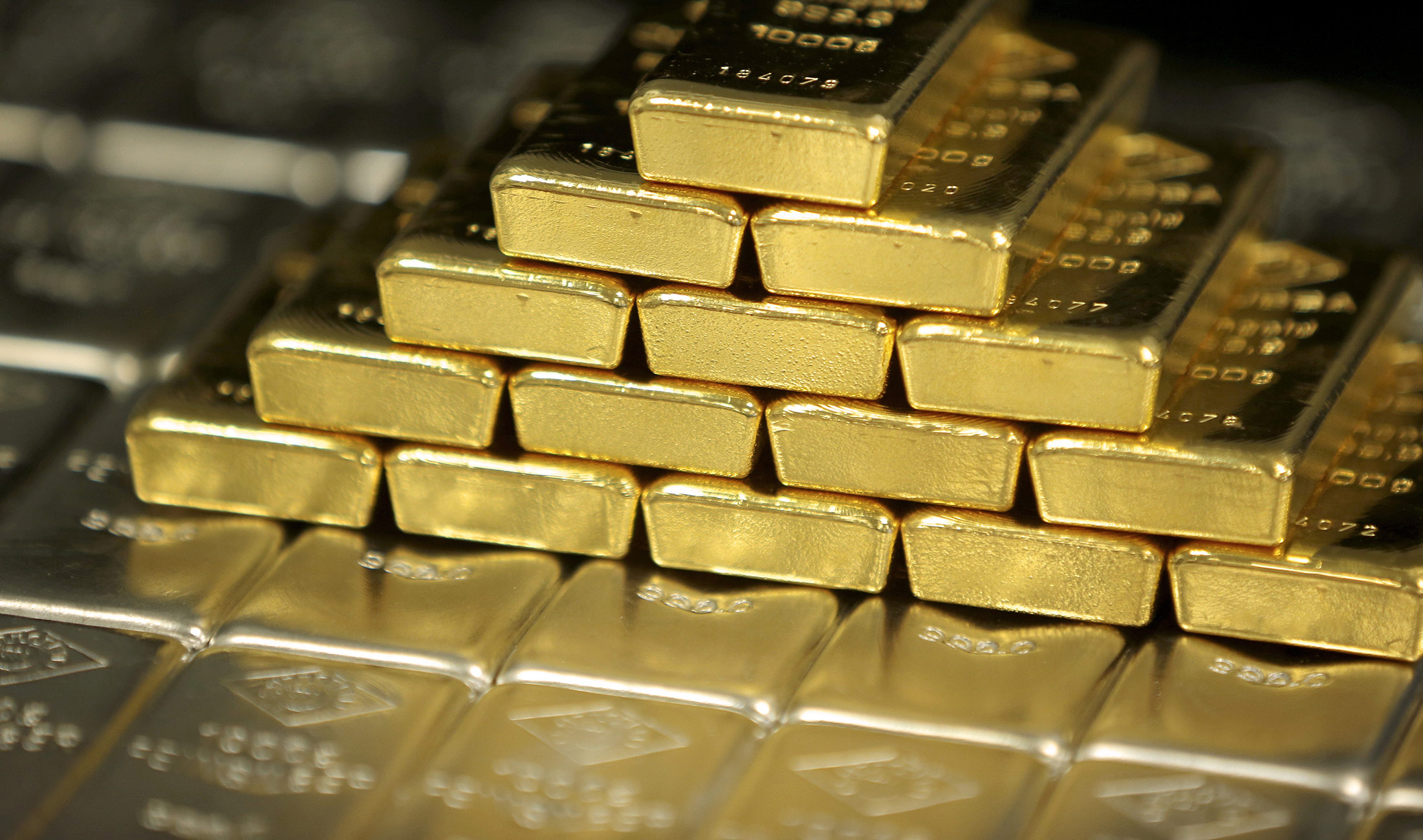 Gold is back. That's a worrying sign